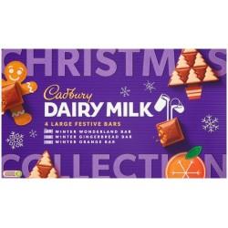 Cadbury Festive Bars Selection Box 415g