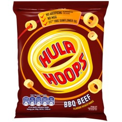 Hula Hoops BBQ Beef: 48-Piece Box