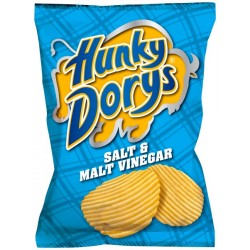 Hunky Dorys Salt & Vinegar: 50-Piece Box