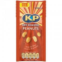 KP Dry Roasted Peanuts 16 x 50g