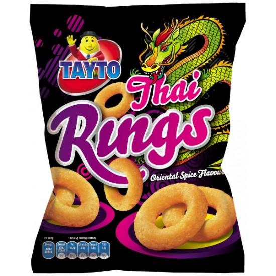 Tayto Thai Rings 24 x 45g