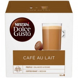 Nescafe Dolce Gusto Cafe Au Lait 3 x 16 Pack