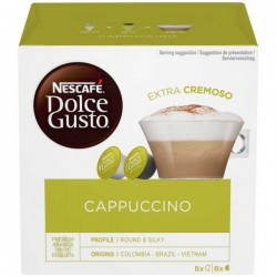 Nescafe Dolce Gusto Cappuccino 3 x 16 Pack