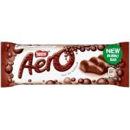 Aero Bubbly Milk Bars 24 x 36g