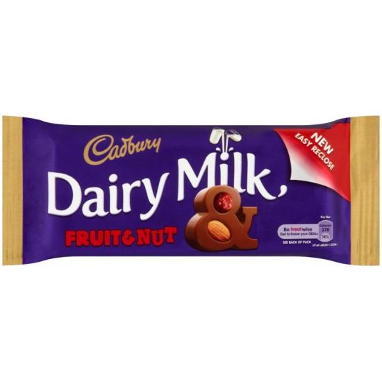 Cadbury Dairy Milk Fruit & Nut: 48-Piece Box