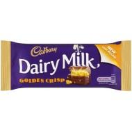 Cadbury Dairy Milk Golden Crisp: 48-Piece Box