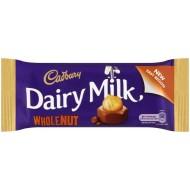 Cadbury Dairy Milk Wholenut: 48-Piece Box