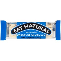 Eat Natural Cashew & Blueberry Bar: 12-Piece Box