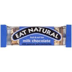 Eat Natural Nuts & Milk Chocolate Bar: 12-Piece Box