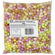 Chocolate Speckled Mini Eggs: 3kg Bag