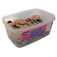 Chocolate Skiffle Discs: 120-Piece Tub