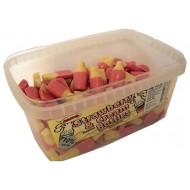 Strawberry & Cream Bottles: 120-Piece Tub