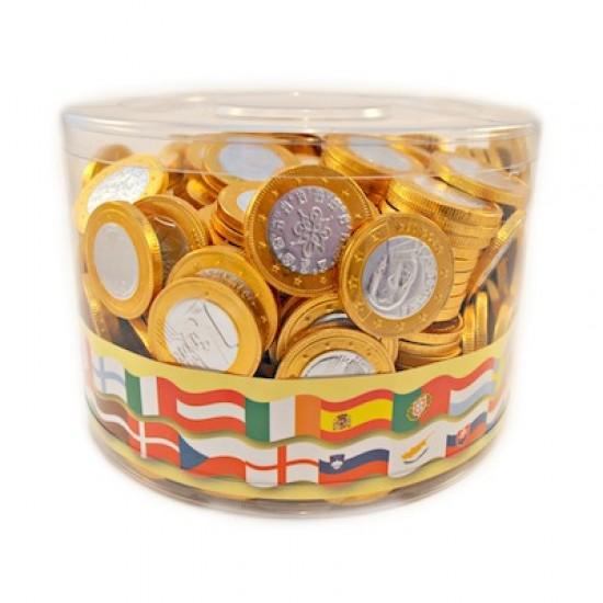 Steenland Milk Chocolate Gold Coins 360 x 5.5g