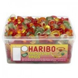 Haribo Friendship Rings: 375-Piece Tub