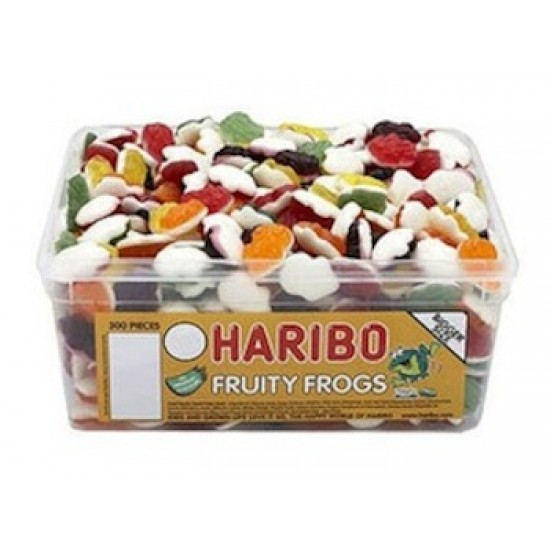 Haribo Fruity Frogs: 375-Piece Tub