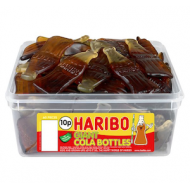 Haribo Giant Cola Bottles: 60-Piece Tub