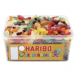 Haribo Jelly Babies: 375-Piece Tub