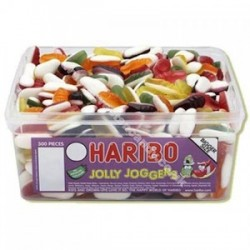 Haribo Jolly Joggers: 375-Piece Tub