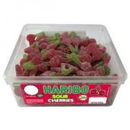 Haribo Sour Cherries: 150-Piece Tub