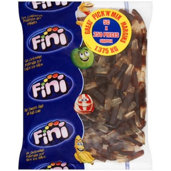 Fini Cola Bottles: 250-Piece Bag