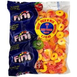 Fini Peach Rings: 250-Piece Bag