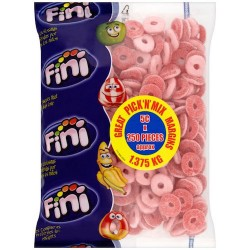 Fini Strawberry Rings: 250-Piece Bag
