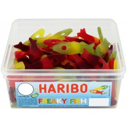 Haribo Freaky Fish: 150-Piece Tub