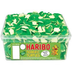 Haribo Terrific Turtles: 375-Piece Tub