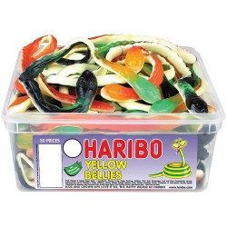 Haribo Yellow Bellies: 30-Piece Tub