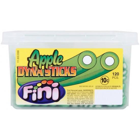 Fini Apple Dyna Stix: 120-Piece Tub