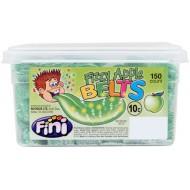 Fini Fizzy Apple Belts: 150-Piece Tub