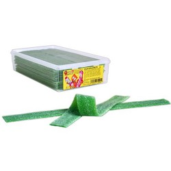 King Regal Sour Apple Belts: 200-Piece Box