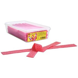 King Regal Sour Strawberry Belts 200 Pieces