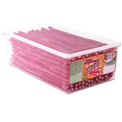 King Regal Sour Strawberry Pencils: 120-Piece Tub