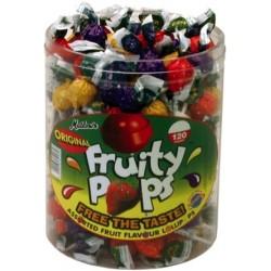 Fruity Pops: 120-Piece Tub