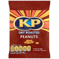 KP Dry Roasted Peanuts: 21-Piece Pack