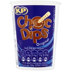 KP Milk Chocolate Dips 12 x 28g