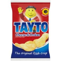Tayto Cheese & Onion Crisps 50 x 45g