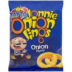 Tayto Jonnie Onion Rings 50 x 28g