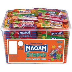 Maoam Stripes: 150-Piece Tub