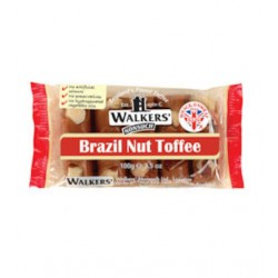 Walkers Brazil Nut Toffee Bar: 10-Piece Tray