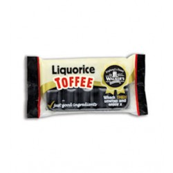 Walkers Liquorice Toffee Bar: 10-Piece Tray