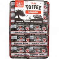 Walkers Liquorice Toffee Bar: 10-Piece Tray