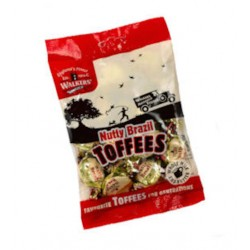 Walkers Nutty Brazil Toffees: 12-Piece Box