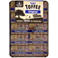 Walkers Plain Toffee Bars: 10-Piece Tray